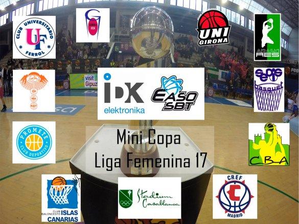 Equipos participantes en la Mini Copa LF.
