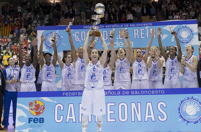 Perfumerías Avenida se corona campeón de la Copa de la Reina al derrotar en la final a Spar Citylift Girona