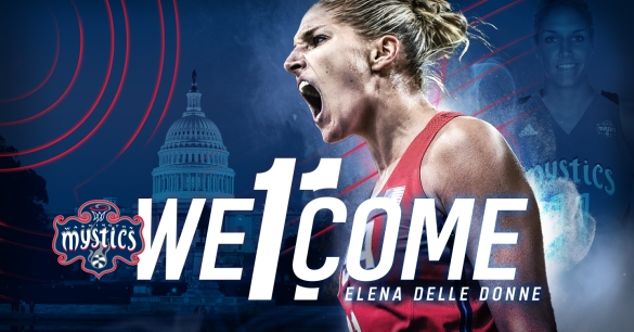 Elena Delle Donne ficha por Washington Mystics