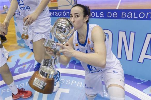 Silvia Domínguez consigue su primera Copa de la Reina