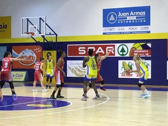 Liga Femenina. Jornada 19. Spar Gran Canaria contra Embutidos Pajariel Bembibre