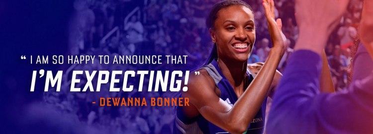 DeWanna Bonner se perderá la WNBA por estar embarazada