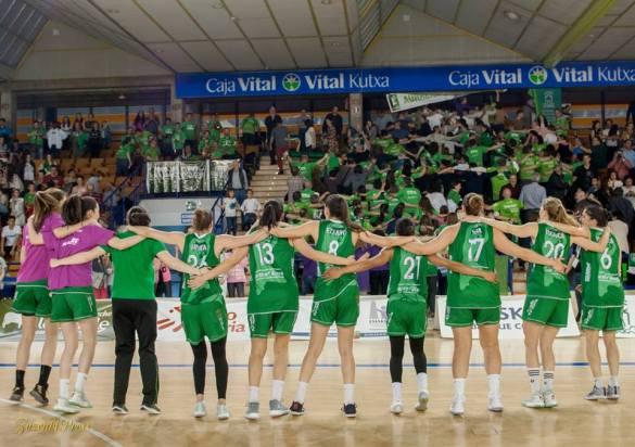 Playoffs Liga Femenina. Lacturale Araski contra Lointek Gernika Bizkaia