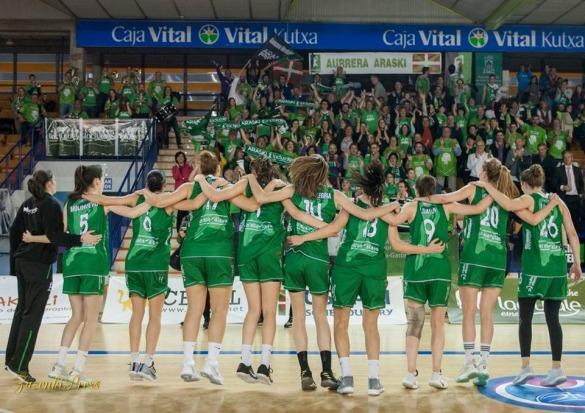 Playoffs Liga Femenina: Spar Citylift Girona derrota a Lacturale Araski.