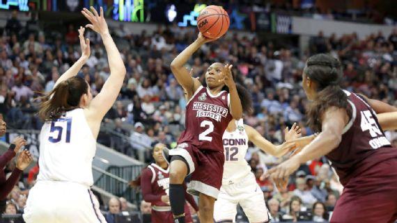 Mississippi State pone fin a la racha de victorias de UConn