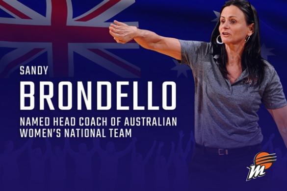 Sandy Brondello elegida seleccionadora de Australia