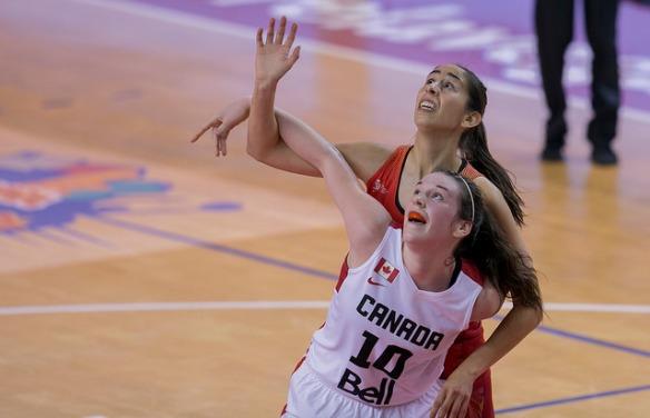 Georgina Bahí (en la foto) y Laura Quevedo, descartes de la selección