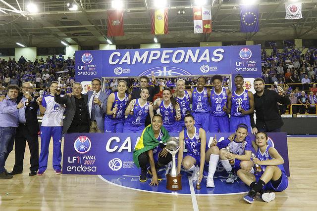 Perfumerías Avenida consigue un nuevo título de Liga Femenina al derrotar a Spar Citylift Girona