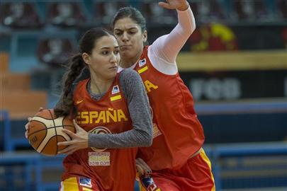 Belén Arrojo, primer descarte de la selección española