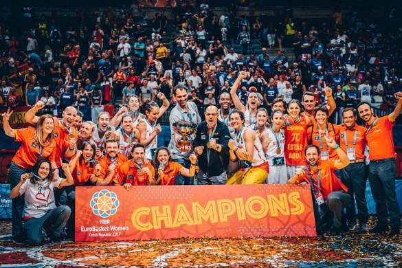 Eurobasket República Checa: España campeona de Euroopa por tercera vez al derrotar a Francia