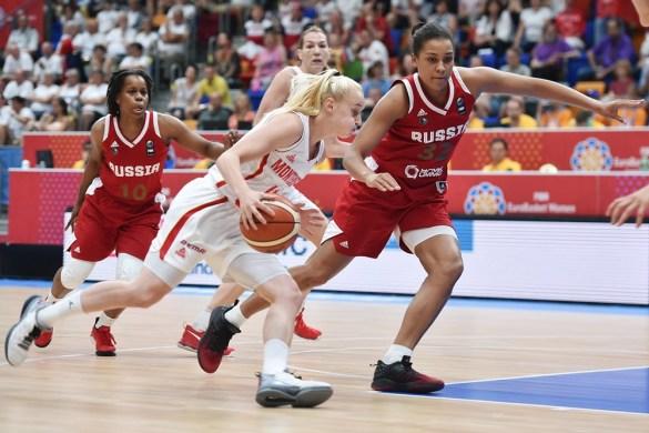 Eurobasket: Rusia frente a Montenegro