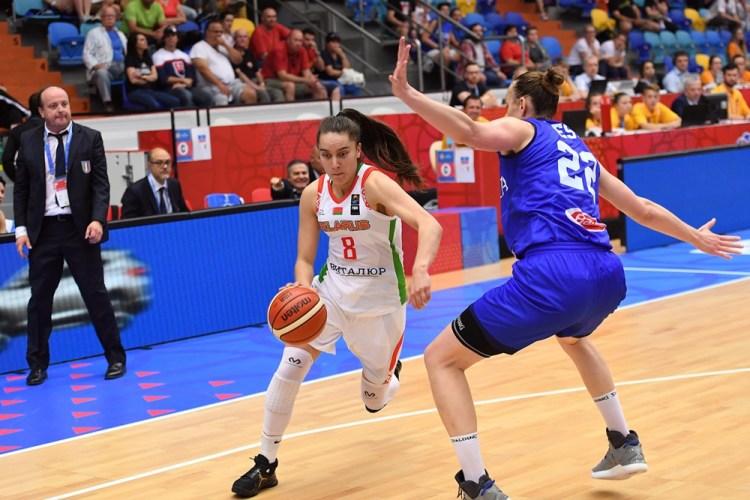 Eurobasket de República Checa. Bielorrusia contra Italia