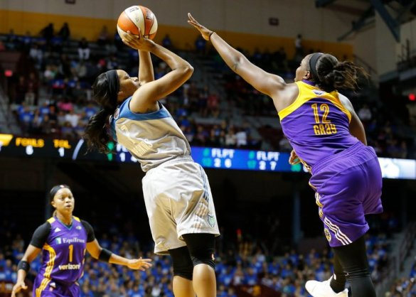 WNBA Finals: Minnesota Lynx empata la eliminatoria frente a Los Ángeles Sparks