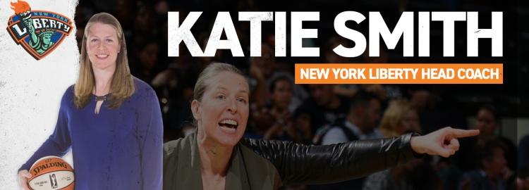 Katie Smith nueva entrenadora de New York Liberty