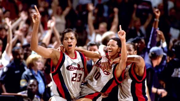 Houston Comets fue el equipo dominador al comienzo de la WNBA