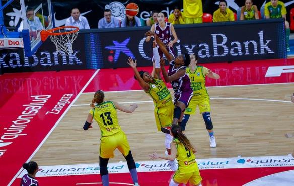 Copa de la Reina 2018: Mann Filter contra Snatt's Femení Sant Adrià
