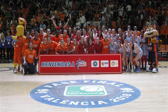 Durán Maquinaria Ensino y Valencia Basket, nuevos equipos de Liga DIA