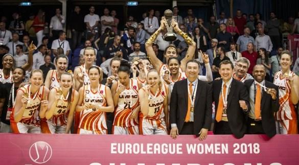 Euroliga Femenina: UMMC Ekaterinburg celebra su cuarto título europeo