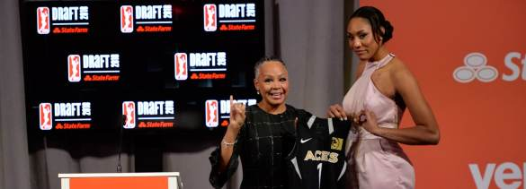 Draft de la WNBA: Lisa Borders y A'Ja Wilson.