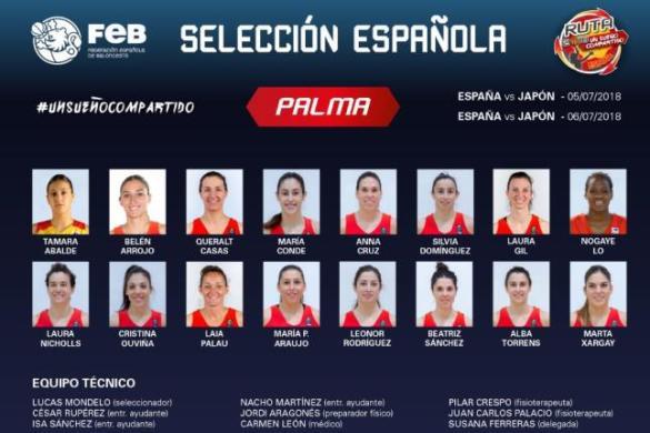 Preselección de España para la Copa del Mundo de Tenerife