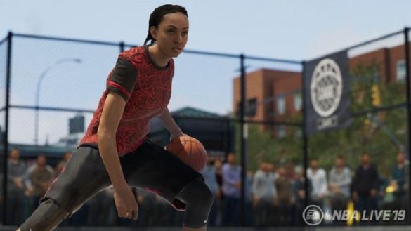 NBA Live 19 permitirá la creación de jugadoras