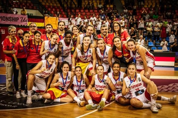 La selección U18 femenina consigue la plata en el Europeo