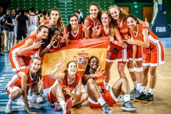 La selección u16 femenina consigue el bronce en el Europeo de Lituania