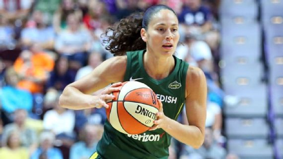 Sue Bird, jugadora de Seattle Storm