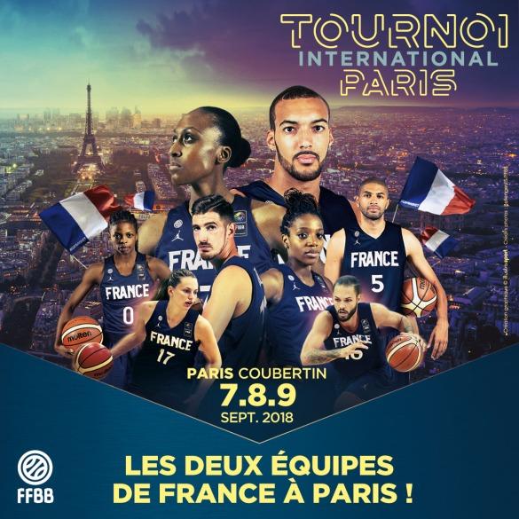 La selección femenina y masculina de Francia jugarán juntas por primera vez el torneo internacional de Francia en París
