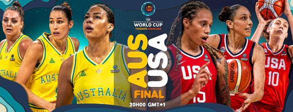 Copa del Mundo: La gran final será prácticamente un partido de la WNBA