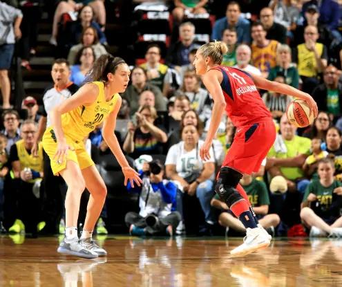 WNBA Finals: Seattle Storm contra Washington Mystics