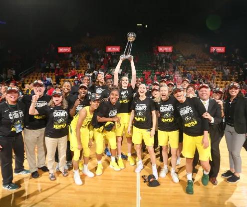 WNBA Playoffs: Seattle Storm campeón de la WNBA por tercera vez en su historia