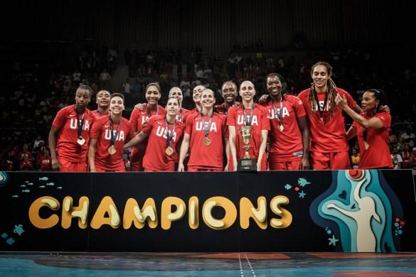 Copa del Mundo: Estados Unidos consigue su tercer oro consecutivo
