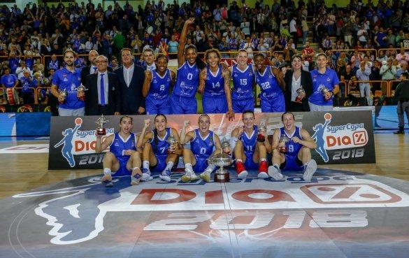 Supercopa Liga DIA: Perfumerías Avenida, campeón por octava vez consecutiva