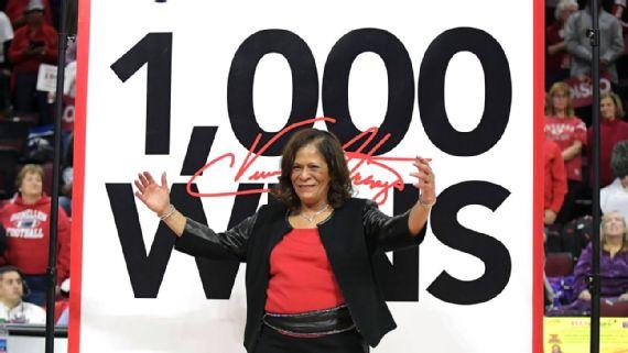 C. Vivian Stringer suma su victoria número 1.000 como entrenadora
