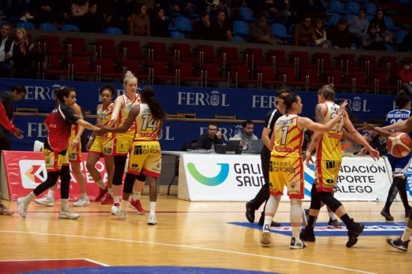 Jornada 9 de la Liga DIA. Baxi Ferrol contra Spar Citylift Girona