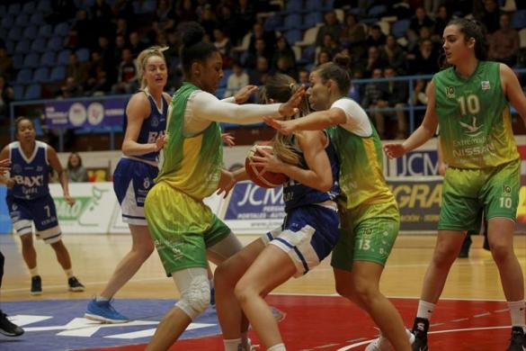 Liga DIA. Jornada 14: Baxi Ferrol contra Nissan Al-Qázeres Extremadura