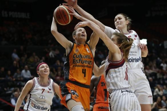 Liga DIA. Jornada 15: Valencia Basket contra Lointek Gernika Bizkaia