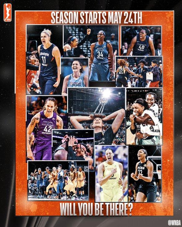 La WNBA contará con más partidos televisados en este 2019