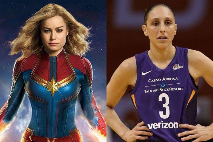 La WNBA y Capitana Marvel se unen para inspirar y empoderar a las niñas