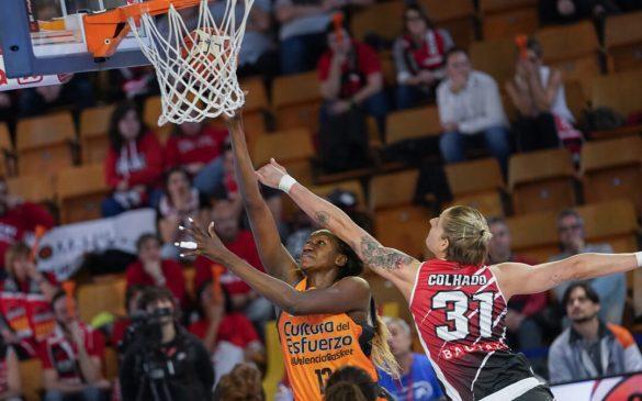Copa de la Reina: Spar Citylift Girona frente Valencia Basket.