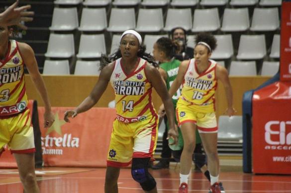 Shay Murphy dejará Spar Citylift Girona tras la Copa de la Reina