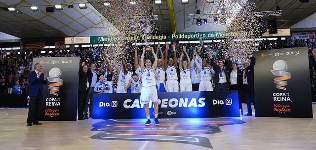 Perfumerías Avenida derrota a Spar Citylift Girona y se convierte en campeón de la Copa de la Reina