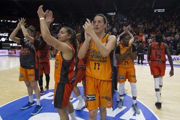 Liga DIA. Jornada 22. Valencia Basket contra Cadí La Seu