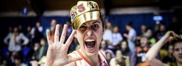 Alba Torrens es la jugadora española con más títulos de Euroliga Femenina