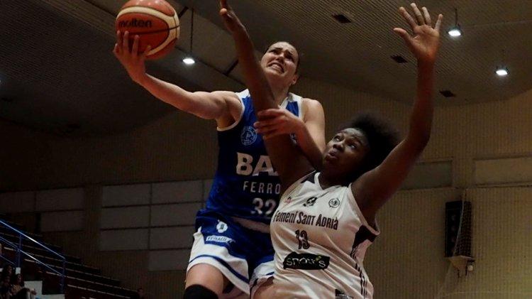 Liga DIA. Jornada 25: Baxi Uni Ferrol contra Snatt's Femení Sant Adriá