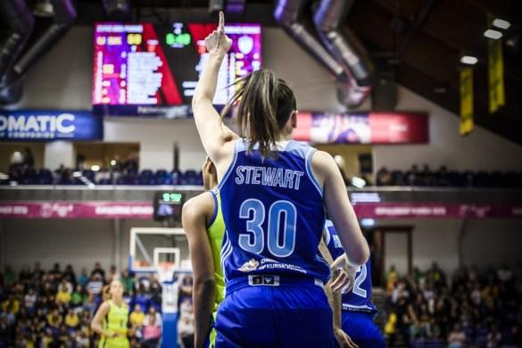 Breanna Stewart jugará con Dynamo Kursk la final de la Euroliga Femenina