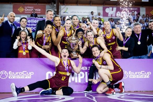 Eurocup Women: Nadezhda consigue el título tras derrotar a BLMA