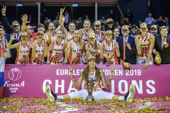 Euroliga Femenina: UMMC Ekaterinburg se proclama campeón