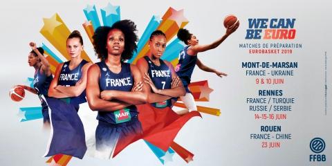 Fechas de la preparación de Francia de cara al Eurobasket de Serbia y Letonia